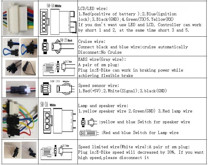Asine on 48 Volt Electric Bike Controller Wiring Diagram